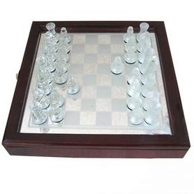 Шахматы стеклянные JB-014