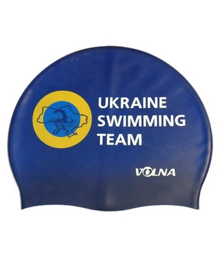 Шапочка для плавания Volna Club II blue