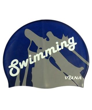 Шапочка для плавания Volna Swim Cap blue