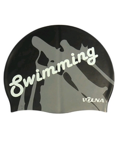 Шапочка для плавания Volna Swim Cap black