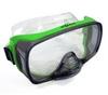 Маска для плавания Volna Foros зеленая - фото 1