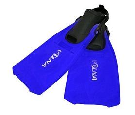 Ласты с открытой пяткой Volna Katran blue