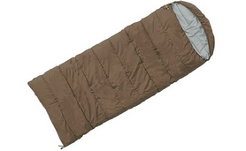 Фото 1 к товару Мешок спальный (спальник) Mountain Outdoor коричневый широкий