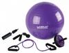 Набор для тренировок Live Up Yoga Set (фитбол, скакалка, ролик для пресса, эспандер) - фото 1