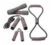 Набор для тренировок Live Up Training Set (ручной эспандер, скакалка, эспандер восьмерка, 2 гантели) - фото 1