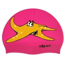 Шапочка для плавания детская Volna Ocean JR Cap pink