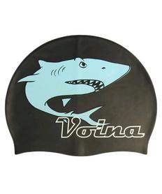 Шапочка для плавания Volna Shark Cap black