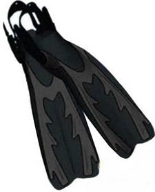 Ласты с открытой пяткой Volna Ai-Petri Pro black