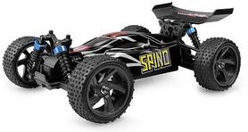 Фото 2 к товару Автомобиль радиоуправляемый Himoto Багги Spino E18XBb Brushed 1:18 black