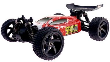 Автомобиль радиоуправляемый Himoto Багги Spino E18XBr Brushed 1:18 red
