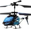 Вертолет на инфракрасном управлении 3-к WL Toys S929 с автопилотом синий - фото 1