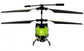 Фото 2 к товару Вертолет на инфракрасном управлении 3-к WL Toys S929 с автопилотом зеленый