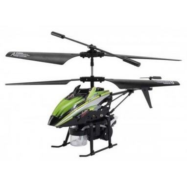 Вертолет на инфракрасном управлении 3-к WL Toys V757 BUBBLE зеленый