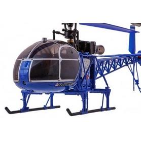 Фото 2 к товару Вертолет радиоуправляемый 4-к WL Toys V915 Lama синий