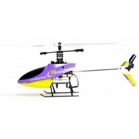Фото 2 к товару Вертолет радиоуправляемый 4-к Xieda 9958 фиолетовый