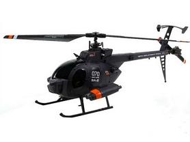 Вертолет радиоуправляемый 4-к Fei Lun MD-500 черный