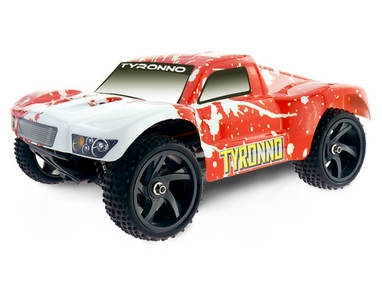 Автомобиль радиоуправляемый Himoto Шорт-корс Tyronno E18SCr Brushed 1:18 red
