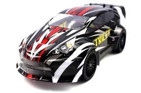 Автомобиль радиоуправляемый Himoto Tricer E18ORb Brushed 1:18 black