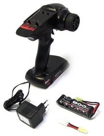 Фото 2 к товару Автомобиль радиоуправляемый Himoto Tricer E18ORb Brushed 1:18 black