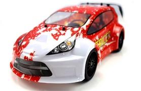 Автомобиль радиоуправляемый Himoto Tricer E18ORr Brushed 1:18 red