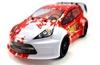 Автомобиль радиоуправляемый Himoto Tricer E18ORr Brushed 1:18 red - фото 1