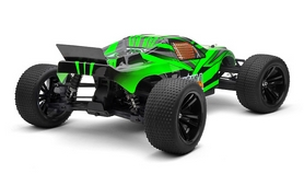 Фото 2 к товару Автомобиль радиоуправляемый Himoto Трагги Katana E10XTg Brushed 1:10 green