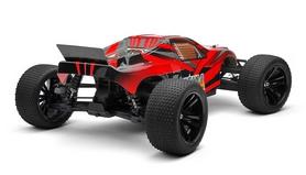 Фото 2 к товару Автомобиль радиоуправляемый Himoto Трагги Katana E10XTr Brushed 1:10 red