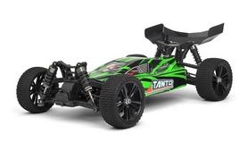 Автомобиль радиоуправляемый Himoto Багги Tanto E10XBg Brushed 1:10 green