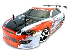 Фото 1 к товару Автомобиль радиоуправляемый Himoto Дрифт DRIFT TC HI4123t Brushed 1:10 (Toyota Soarer)