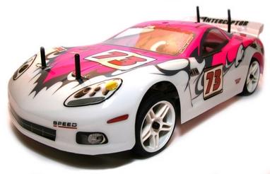 Автомобиль радиоуправляемый Himoto NASCADA HI5101p Brushed 1:10 pink