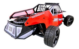 Фото 2 к товару Автомобиль радиоуправляемый Himoto Багги Dirt Whip E10DBLr Brushless 1:10 red