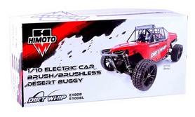 Фото 5 к товару Автомобиль радиоуправляемый Himoto Багги Dirt Whip E10DBLr Brushless 1:10 red