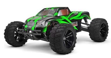 Автомобиль радиоуправляемый Himoto Монстр Bowie E10MTLg Brushless 1:10 green