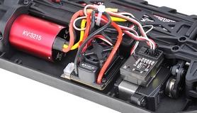 Фото 4 к товару Автомобиль радиоуправляемый Himoto Трагги Katana E10XTLb Brushless 1:10 black