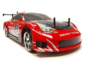 Автомобиль радиоуправляемый Himoto Дрифт DRIFT TC HI4123BLr Brushless 1:10 red