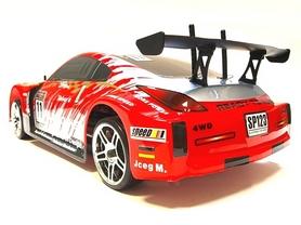 Фото 3 к товару Автомобиль радиоуправляемый Himoto Дрифт DRIFT TC HI4123BLr Brushless 1:10 red