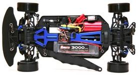 Фото 4 к товару Автомобиль радиоуправляемый Himoto Дрифт DRIFT TC HI4123BLr Brushless 1:10 red