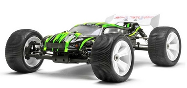 Автомобиль радиоуправляемый Himoto Трагги Ziege MegaE8XTLg Brushless 1:8 green