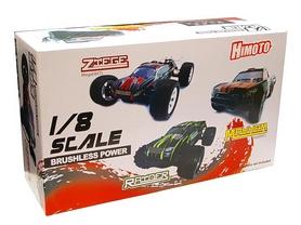 Фото 6 к товару Автомобиль радиоуправляемый Himoto Трагги Ziege MegaE8XTLg Brushless 1:8 green