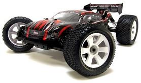 Фото 2 к товару Автомобиль радиоуправляемый Himoto Трагги Ziege MegaE8XTLr Brushless 1:8 red