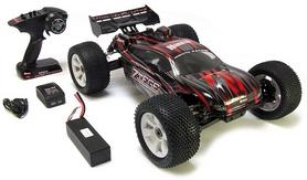 Фото 6 к товару Автомобиль радиоуправляемый Himoto Трагги Ziege MegaE8XTLr Brushless 1:8 red