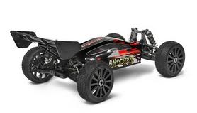 Фото 3 к товару Автомобиль радиоуправляемый Himoto Багги Shootout MegaE8XBLr Brushless 1:8 red