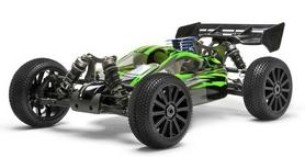 Автомобиль радиоуправляемый Himoto Багги Firestorm N8XBg NITRO green
