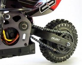Фото 5 к товару Мотоцикл радиоуправляемый Himoto Burstout MX400g Brushed 1:4 green
