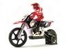 Мотоцикл радиоуправляемый Himoto Burstout MX400r Brushed 1:4 red - фото 1