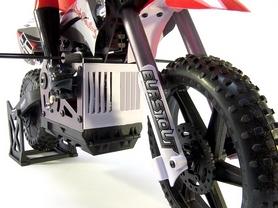 Фото 2 к товару Мотоцикл радиоуправляемый Himoto Burstout MX400r Brushed 1:4 red