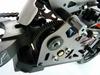 Мотоцикл радиоуправляемый Himoto Burstout MX400r Brushed 1:4 red - фото 3