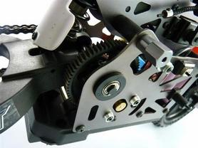 Фото 3 к товару Мотоцикл радиоуправляемый Himoto Burstout MX400r Brushed 1:4 red