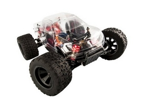 Фото 3 к товару Автомобиль радиоуправляемый LC Racing Монстр MTH 1:14 бесколлекторный