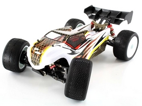 Фото 1 к товару Автомобиль радиоуправляемый LC Racing Трагги TGH 1:14 white